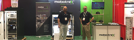 mobility experts at trade show