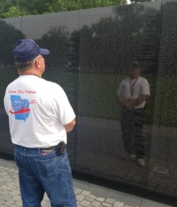Retired Command Sergeant Major Paul Brotherton in Washington, DC.
