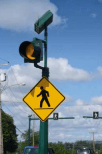 Carmanah R820 Series – Crosswalk Flashing Beacon