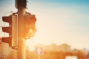 Traffic control signal light