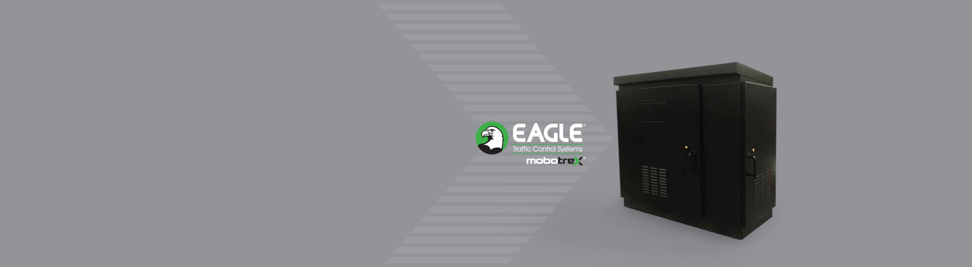 Eagle brand traffic control banner